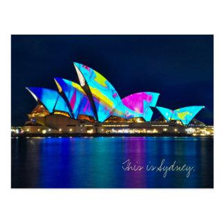 Postal Saludos de Sydney