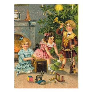 Postal Saludos del navidad