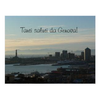 Postal - Saluti DA Génova