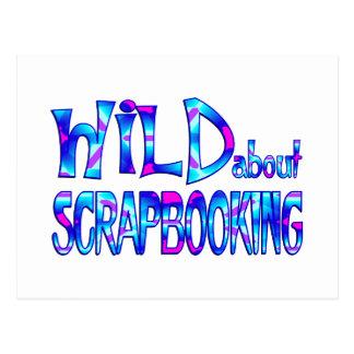 Postal Salvaje sobre Scrapbooking