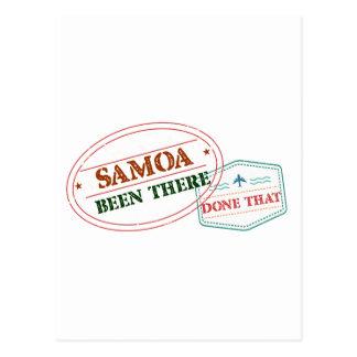 Postal Samoa allí hecho eso