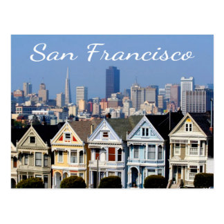 Postal San Francisco CA pintó estados del horizonte de