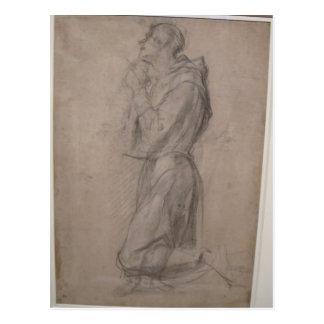 Postal San Francisco Jacopo Pontormo-