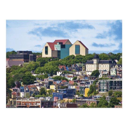 Postal San Juan, Terranova, Canadá, los 2