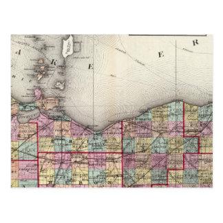 Postal Sandusky, Seneca, y condados de la cumbre