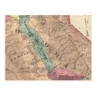 Postal Santa Rosa, Vallejo, y los municipios de Sonoma