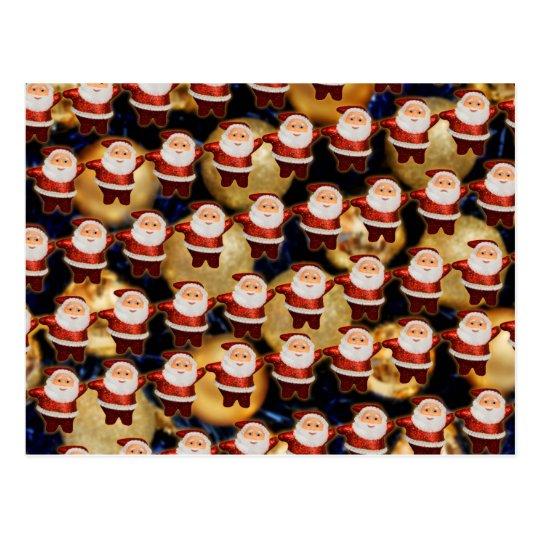 Postal Santa Super  dancing