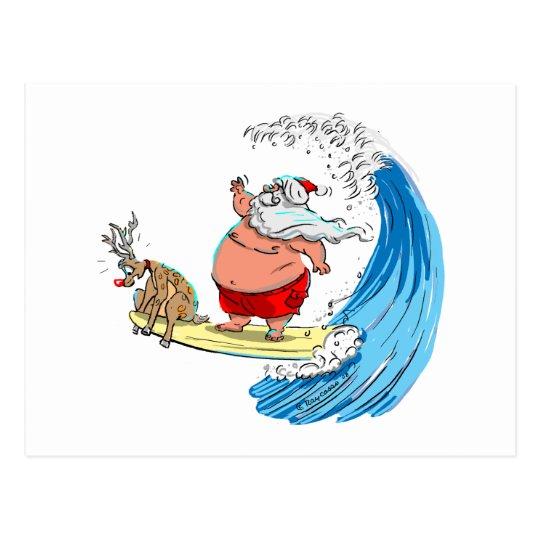 Postal saNtA y Rudolf