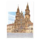 Postal Santiago de Compostela. Façade occidental. España