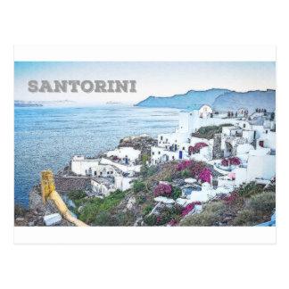 Postal Santorini, Grecia