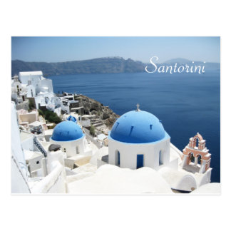 Postal Santorini hermoso Grecia