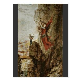 Postal Sappho en Lefkada de Gustave Moreau