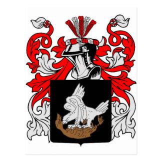 Postal Saque de quicio el escudo de armas