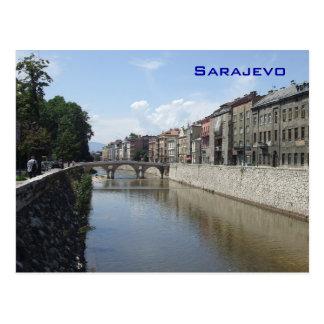 Postal Sarajevo - puente latino