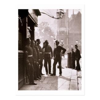 Postal Sargentos de reclutamiento en Westminster, 1876-77