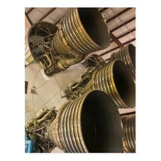 Postal Saturn V Rocket