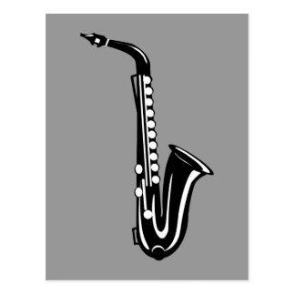 Postal Saxofón