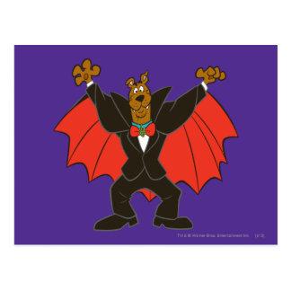 Postal Scooby Drácula