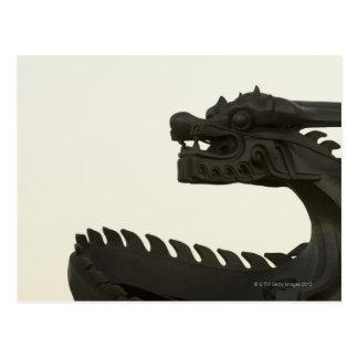 Postal Scultpture tradicional del dragón de China, Pekín