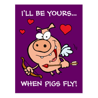 Postal Sea Anti-Tarjetas del día de San Valentín de la