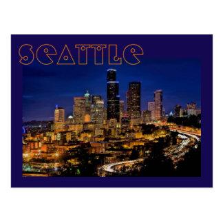 Postal Seattle, Washington, los E.E.U.U. La ciudad