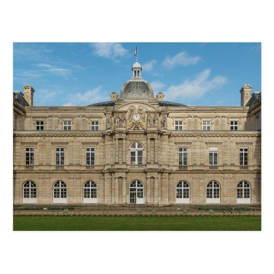 Postal Senado francés París Francia del palacio de