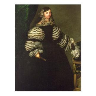 Postal Señora de la familia de Medinaceli, c.1683