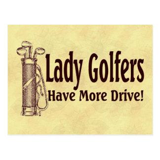 Postal Señora Golfers