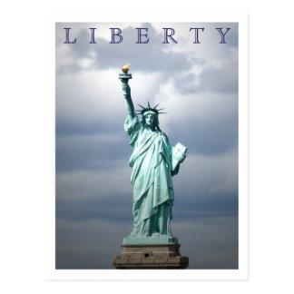 Postal Señora Liberty