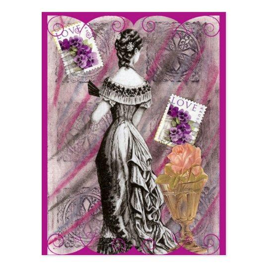 Postal Señora Love del Victorian