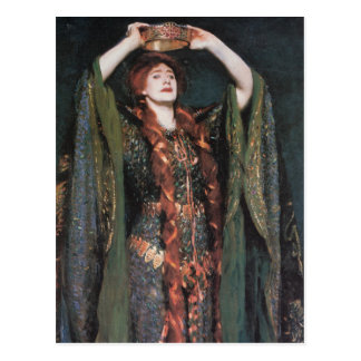 Postal Señora Macbeth