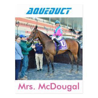 Postal Señora McDougal y Jose Ortiz