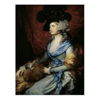 Postal Señora Sarah Siddons, la actriz, 1785