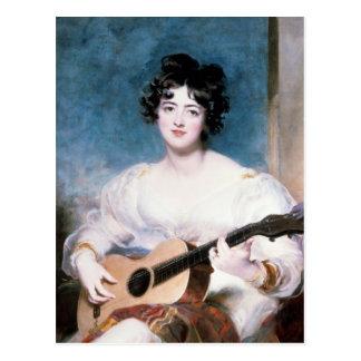 Postal Señora Wallscourt, 1825