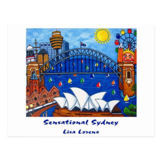 Postal sensacional de Sydney