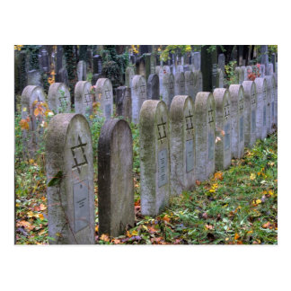 Postal Sepulcros judíos en Zentralfriedhof