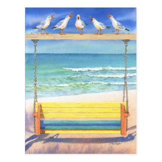 Postal Serenata de la playa