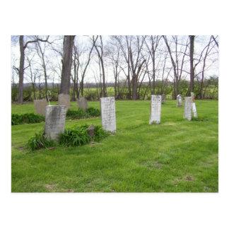 Postal Serie del cementerio