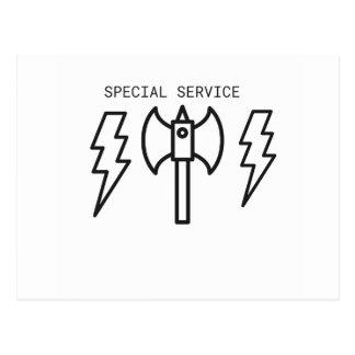 Postal Servicio especial