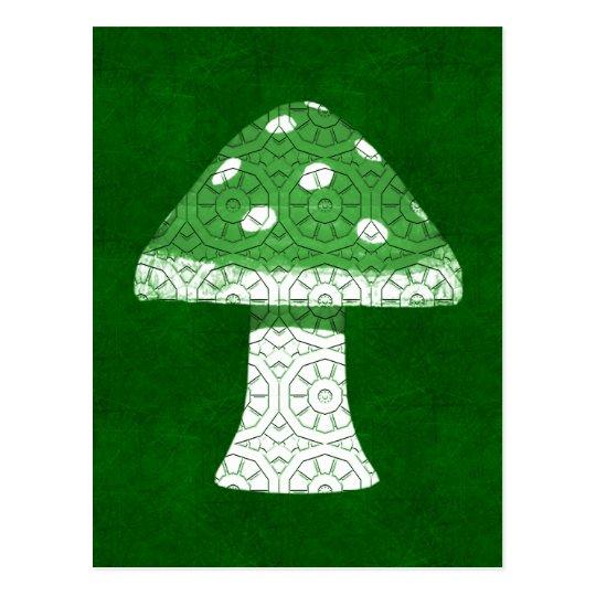 Postal Seta verde