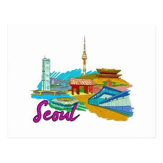 Postal Seul - Korea.png del sur