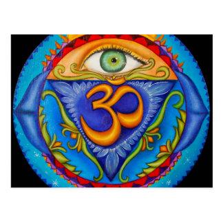 Postal Sexto chakra, tercer ojo