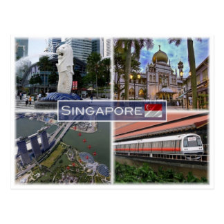 Postal SG Singapur -