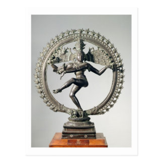 Postal Shiva Nataraja, Tamil Nadu, último Chola (bronce)