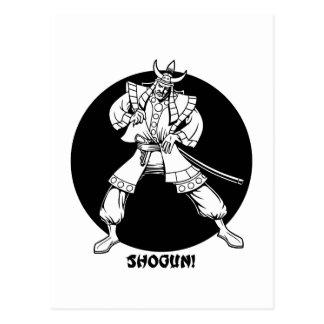 Postal ¡Shogún!
