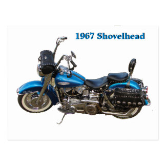 Postal Shovelhead 1967
