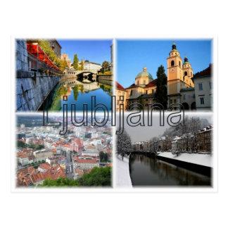 Postal SI Eslovenia - Ljubliana -