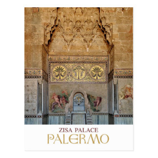 Postal Sicilia - Palermo - palacio de Zisa
