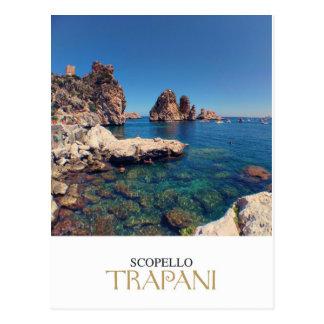 Postal Sicilia - Trapan - Tonnara di Scopello