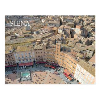 Postal Siena, Italia